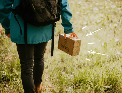 Camp Vibes : la box de randonnée